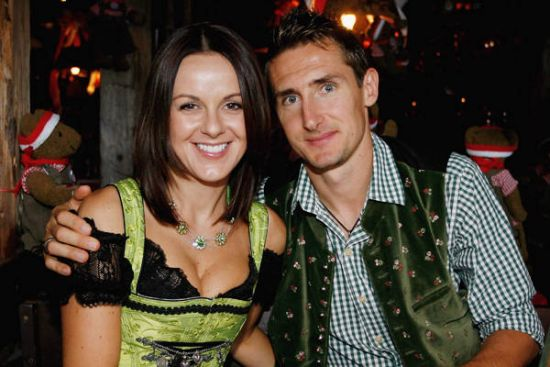 Sylwia Klose Sylwia is married to Germany's Miroslav Klose. I'm sure most of us would offer to buy her a beer if we spotted her at Oktoberfest.