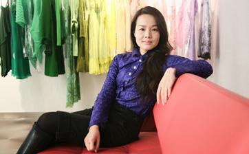 Fashion designer Souphie Sun