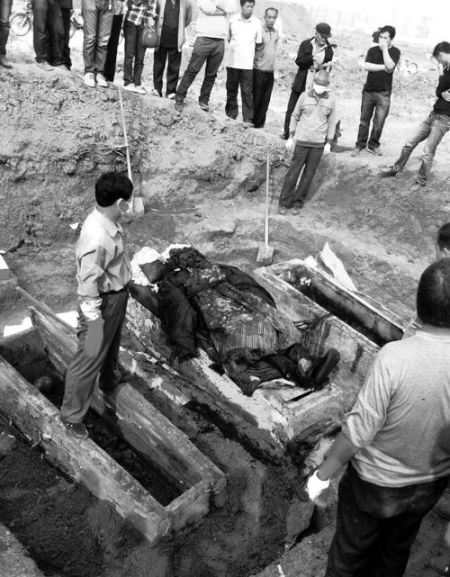 Qing Dynasty official's mummy found in Henan