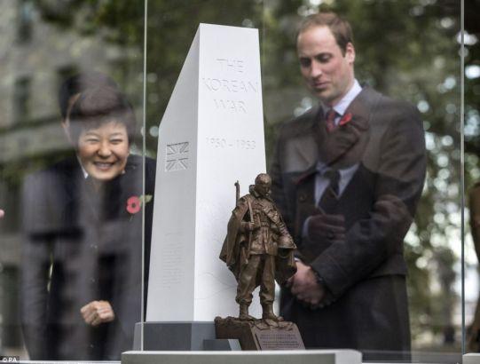 Park Geun-hye and Prince William