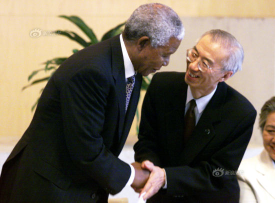 Nelson Mandela visited China several times