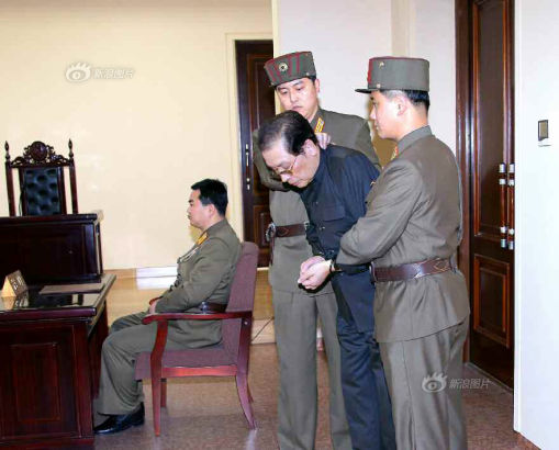 Jang Song-Thaek appeared in court yesterday