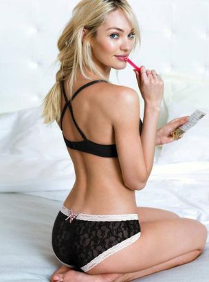 Confirm. candice swanepoel hot lingerie