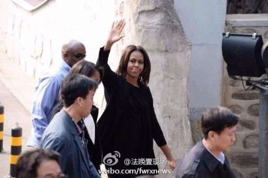 Obamas visit Mutianyu section of the Great Wall
