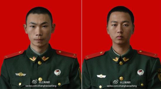 The 2 firemen killed in SHanghai fire