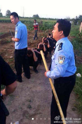 Hundreds of armed men attack villagers in Shanxi