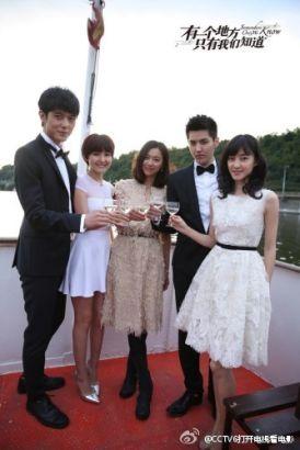 "Kris stars in Xu Jinglei's new film: ""Somewhere Only We Know"""