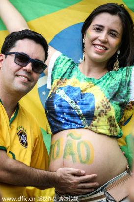 A Brazilian fan