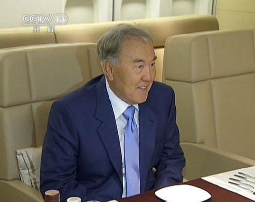 Kazakhstan president Nazarbayev Photo source: Sina.com
