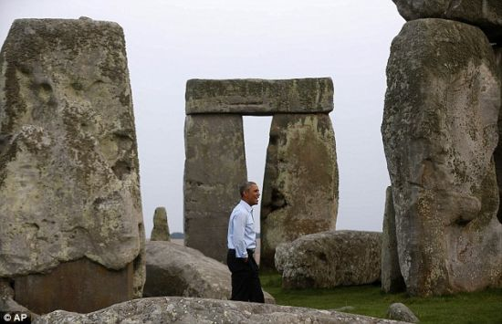 Obama knocks Stonehenge off his 'Bucket List