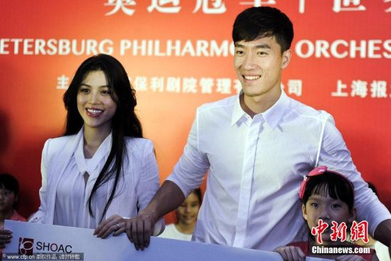 Ge Tian and Liu Xiang