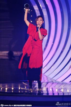 Chinese singer BiBi Zhou wins Best Worldwide Act at 2014 MTV EMA