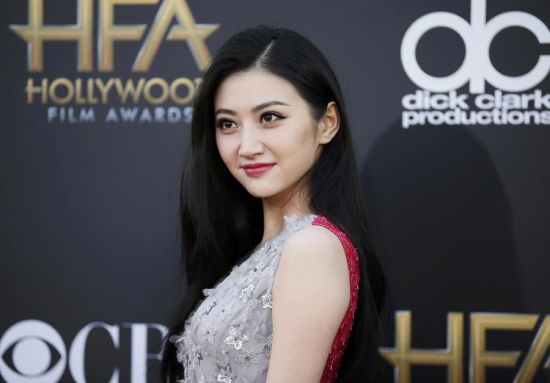 Actress Jing Tian arrives at the Hollywood Film Awards in Hollywood, California November 14, 2014.