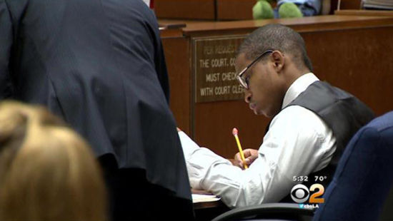 Murderer Javier Bolden in court