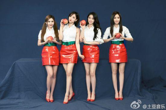 """S. Korean T-ara releases remake of """"Little Apple"""""""