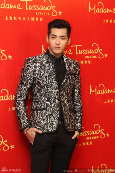 Madame Tussauds to feature Wu Yifan replica