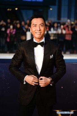 actor Donnie Yen [Photo/Xinhua]