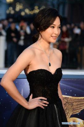actress Tsui Kate Tsz Shan [Photo/Xinhua]