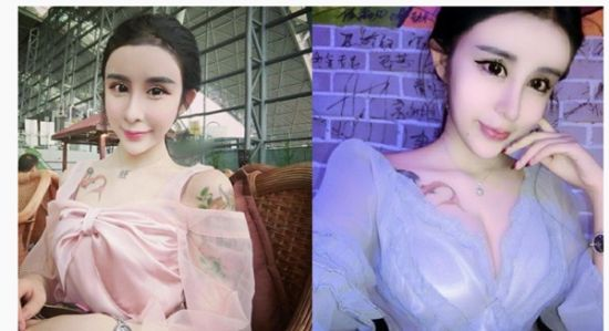 Photos of a young woman posted on her account on Sina Weibo, a popular twitter-like microblogging site in China have drawn the attention of Chinese netizens.