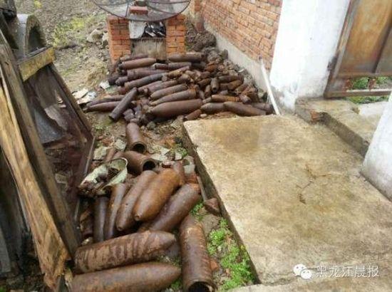 World War II Japanese shells found in NE China village