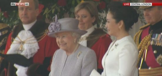 Britain holds royal welcome for Chinese president on ...