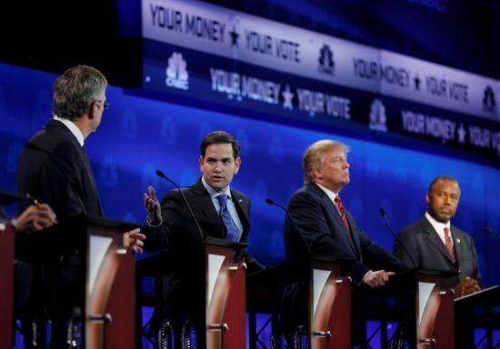 Republican candidates clash is 3rd presidential debate