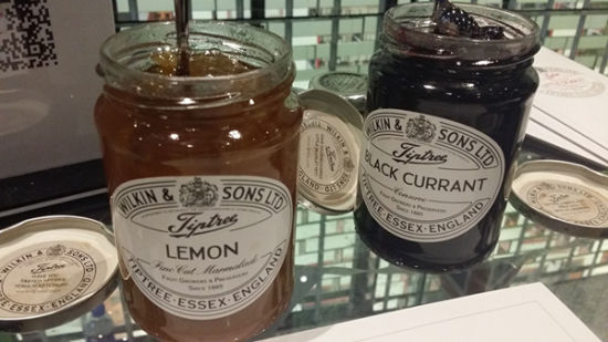 Wilkin & Sons fruit jellies. (Photo/ECNS)