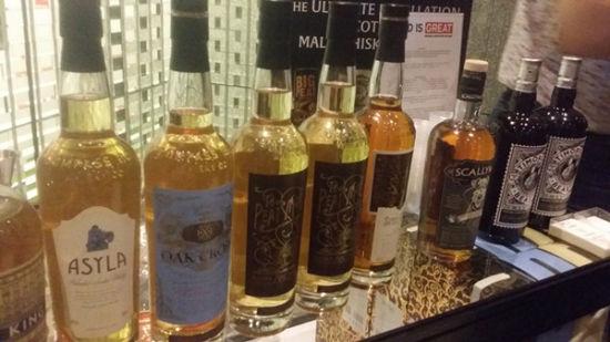 Scotish whisky. (Photo/ECNS)