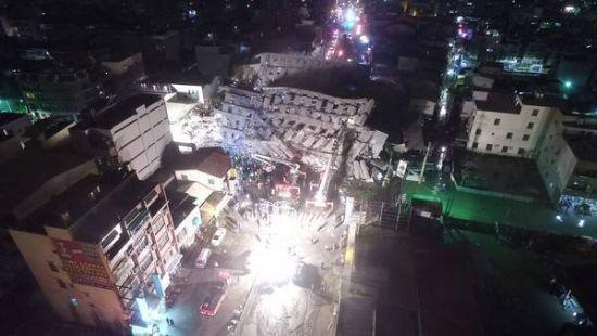 Magnitude 6.4 Earthquake Rattles Taiwan