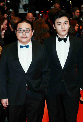 Director Yang Chao and lead actor Qin Hao