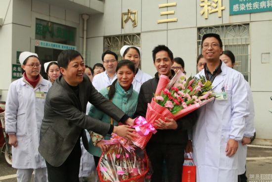 The patient(C), a 34-year-old man from Ganxian county in Jiangxi Province, developed a fever, headache and dizziness on January 28 in Venezuela, before returning to his hometown on February 5 via Hong Kong and Shenzhen.