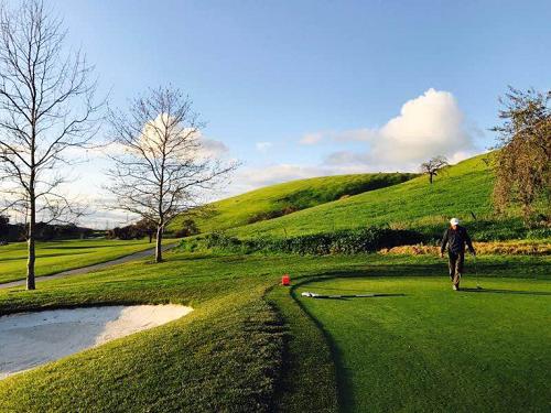 北加州華人高爾夫球愛好者在風景如画的Coyote Creek俱樂部揮桿競技,爭奪衆多獎項