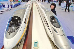 High-speed rail stays on track