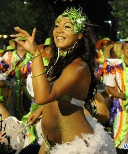 Jubilant 40-day-long Uruguayan carnival