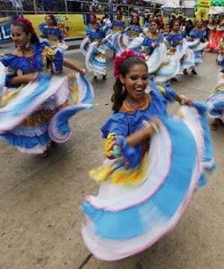 Wild, sexy carnival in Brazil