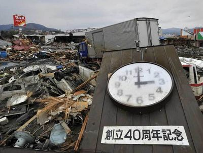 Unforgettable moments in wake of Japan's quake
