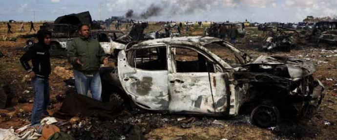 Western air strikes kill 64 in Libya -- health official