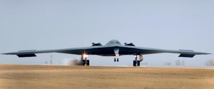 Storied B-2 Stealth bombers hit Libya
