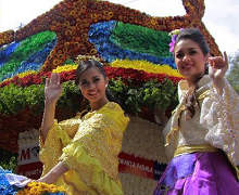 16th flower festival in Philippines