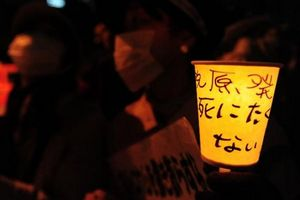 Protesters attend anti-nuclear rally in Japan