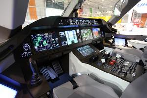 China's trunkliner C919 makes overseas debut