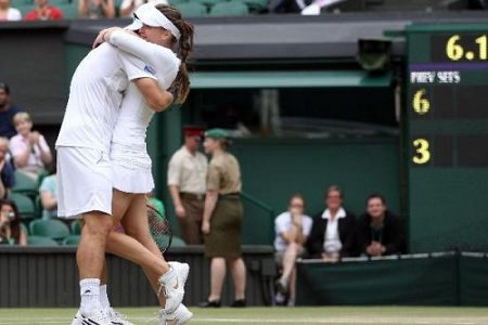 Melzer-Benesova win Wimbledon mixed doubles title
