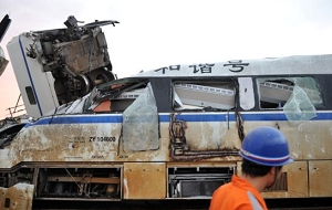In pictures: E China train crash