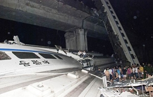 China train collision kills 36, 192 injured