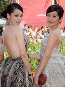 Vivian Hsu and Luo Meiling