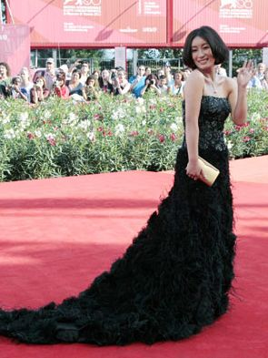 Chinese actress Qin Hailu