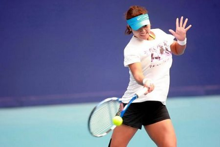 Li Na prepares for China Open