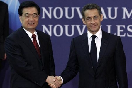 Chinese and French leaders meet ahead of G20 summit