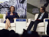 Leaders speak at APEC summit