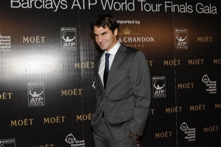 ATP players go stylish at charity gala before finals